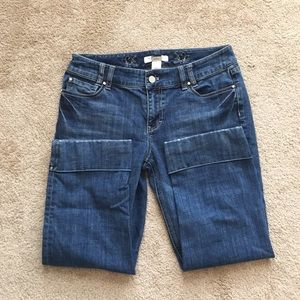 WHBM Cropped Jeans - Size 6